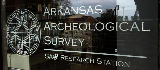 The new door sign at the AAS-SAU Research Station