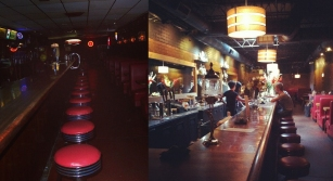 Maxine's Tap Room a) 2006 B) 2013