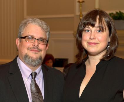 Lydia & me at the 2013 Arkansas Preservation Awards.